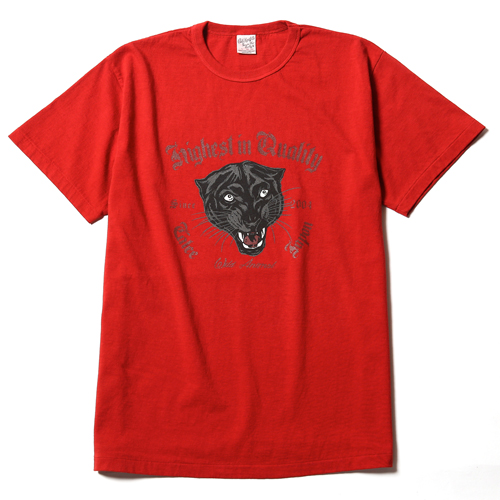 WASHED PANTHER T-SHIRT ★30% OFF★