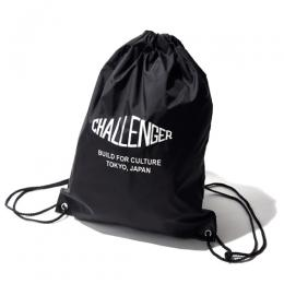 NYLON LOGO BAG
