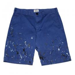 USED PAINTING SHORT PANTS  [17SS046]