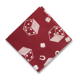 DICE PATTERN POCKET CHEEF