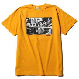 WASHED PHOTO PRINT T-SHIRT ★30% OFF★