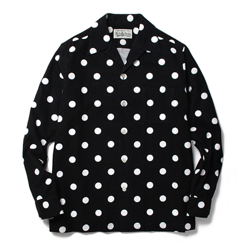 """DOTS""L/S 50'S FLANNEL SHIRTS"