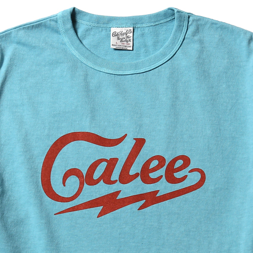 WASHED CALEE LOGO T-SHIRT