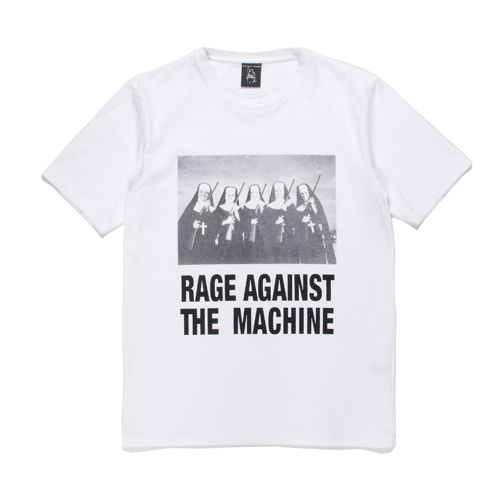 RAGE AGAINST THE MACHINE / WASHED H/W TEE (TYPE-4)