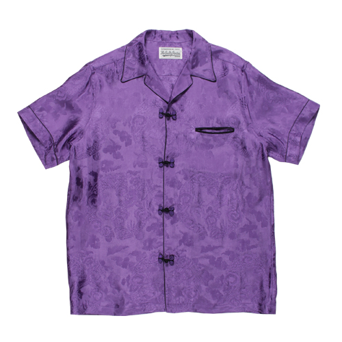 JACQUARD HAWAIIAN SHIRT S/S