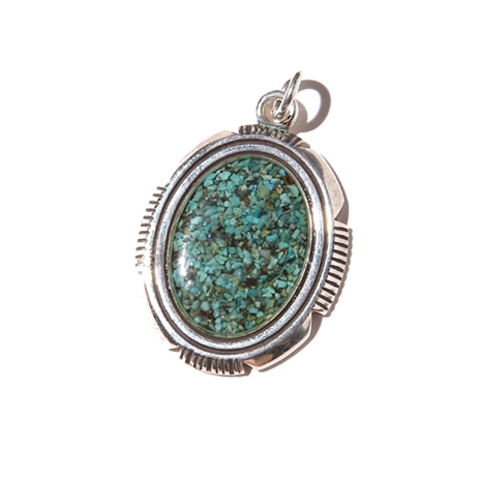 TURQUOISE LARGE HEAD <SILVER 925> [17AW005AC]