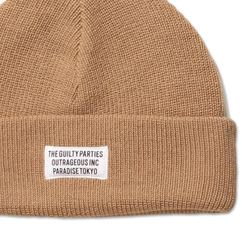 PLAIN KNIT WATCH CAP