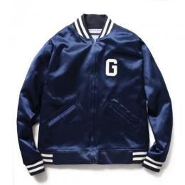 EBBETS FIELD FLANNELS SATIN STADIUM JACKET TYPE-2