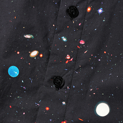 PRINTED L/S SHIRT 〈SPACE〉