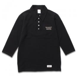 THREE-QUARTER SLEEVE POLO SHIRT (TYPE-2)