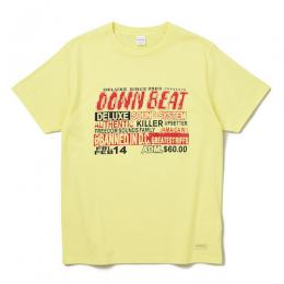 DOWN BEAT TEE ★30% OFF★