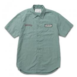 TWILL WORK SHIRT S/S (TYPE-2)