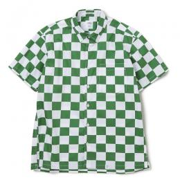 "S/S BD CHECKER SHIRT ""TAYLOR"" ★30% OFF★"