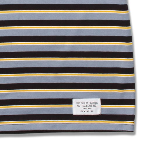 STRIPED CREW NECK T-SHIRT (TYPE-1)