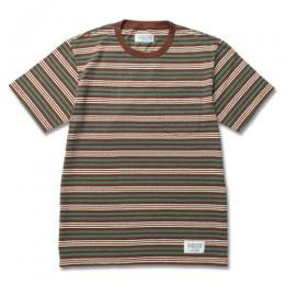 BORDER CREW NECK T-SHIRT (TYPE-3)