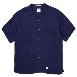 "S/S OPEN COLLAR SHIRT OW ""ROGERS"" ★30% OFF★"