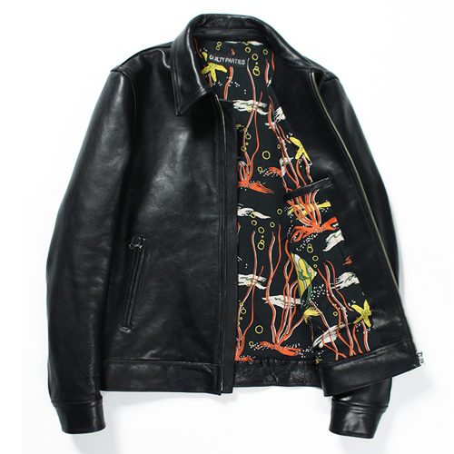 SINGLE RIDERS LEATHER JACKET (TYPE-1)