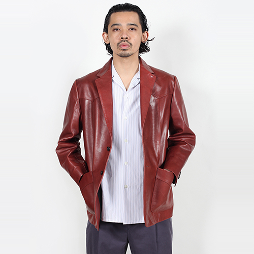 LEATHER WESTERN JACKET (TYPE-1)