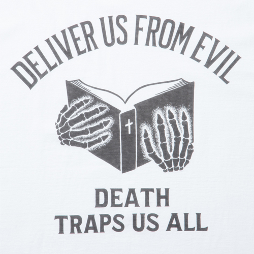 Print S/S Tee (DEATH TRAPS US ALL)
