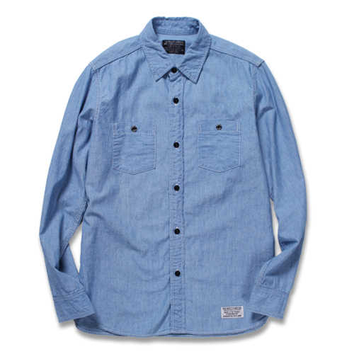 CLASSIC CHAMBRAY WORK SHIRT L/S (TYPE-4)