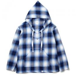 "L/S BAJA PULLOVER HOODED SHIRT FD ""GUS"""