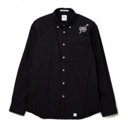 "L/S OX B.D EMBROIDERY SHIRT ""BRIAN"""
