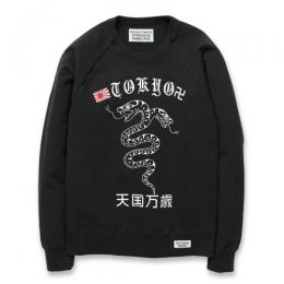 MIDDLEWEIGHT CREW-NECK SWEAT SHIRT (TYPE-6)