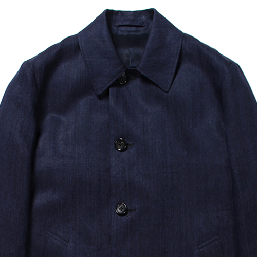 LINNEN BAL COLLAR COAT