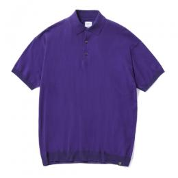 "S/S BIG KNIT POLO SHIRT ""ARTHUR"""