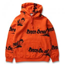DISCODEVIL PULLOVER HOODED SWEAT SHIRT