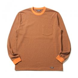 Hairline Border L/S Pocket Tee