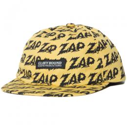 Zap All Over 6 Panel Flat Visor Cap