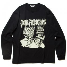 Print L/S Tee (WHAT'S WOULD SATAN DO?)