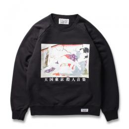 WASHED HEAVY WEIGHT CREW NECK SWEAT SHIRT (TYPE-7)
