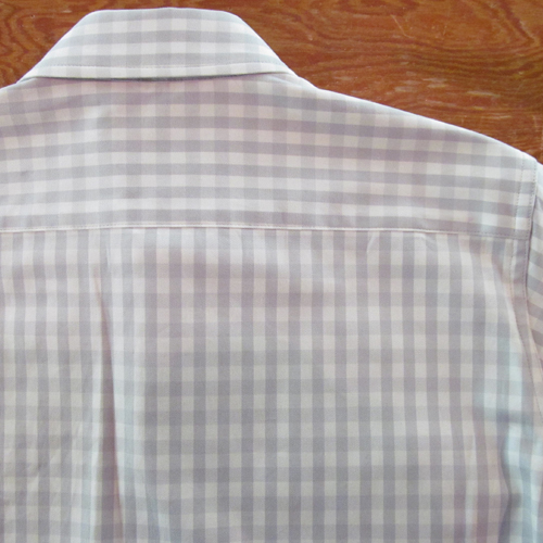 GINGHAM CHECK SHIRT L/S