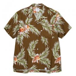 "S/S OPEN COLLAR ALOHA SHIRT ""ROGERS"" ★30% OFF★"