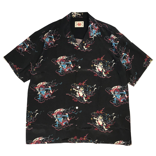 × Delivery Hells 風神雷神 HAWAIIAN SHIRTS ★30% OFF★