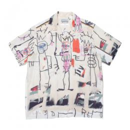 JEAN-MICHEL BASQUIAT / S/S HAWAIIAN SHIRT (TYPE-3)