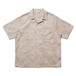 Paisley Open-Neck S/S Shirt