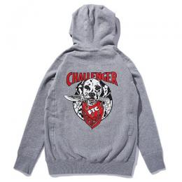 FTC×CHALLENGER PULLOVER HOODY