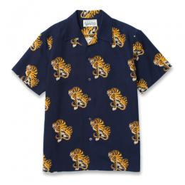 "TIGERS"" S/S HAWAIIAN SHIRT"