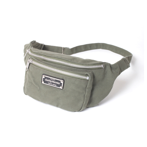 WASHED CANVAS WAIST BAG