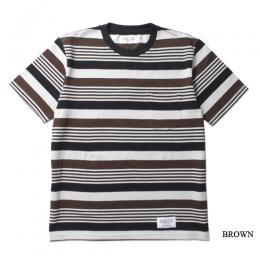 STRIPED CREW NECK T-SHIRT (TYPE-4)