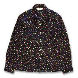 RANDAM DOT OPEN COLLAR SHIRT