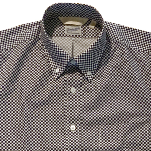 TENDERLOIN x TSJ CHECKERED PATTERN B.D SHIRT