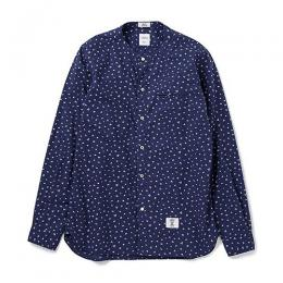 "L/S H-NECK OG FLOWER SHIRT ""OWENS"" ★30%OFF★"