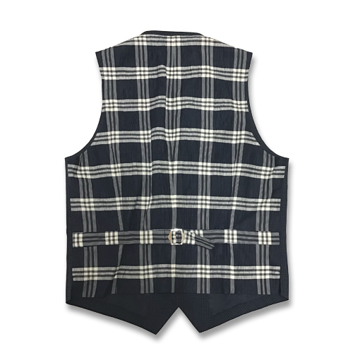 GLEN CHECK COOKMAX VEST