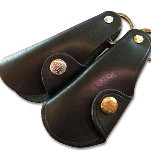 GH LEATHER - SHOE HORN CASE