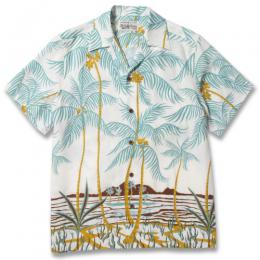 """PALMS TREE"" S/S HAWAIIAN SHIRT"