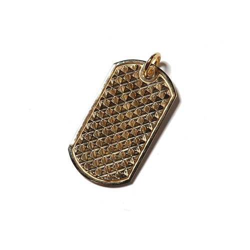 DOG TAG HEAD <BRASS>